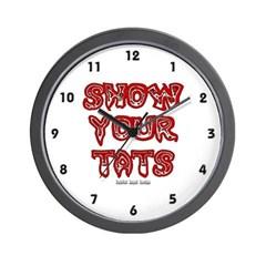 Show Your Tats Wall Clock