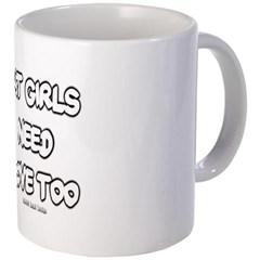 Fat Girls Need Love Too Coffee Mug