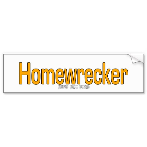 Homewrecker Bumper Sticker