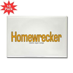 Homewrecker Rectangle Magnet (10 pack)