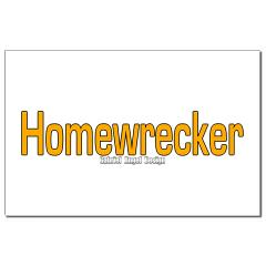 Homewrecker Small Posters
