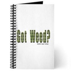 Got Weed? Journal