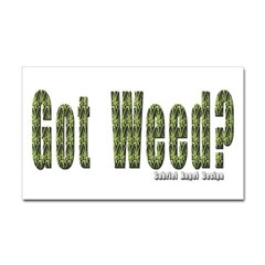 Got Weed? Rectangle Decal