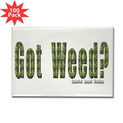 Got Weed? Rectangle Magnet (100 pack)