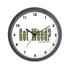 Got Weed? Wall Clock