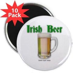 "Irish Beer 2.25"" Magnet (10 pack)"