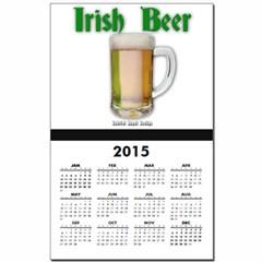Irish Beer Calendar Print