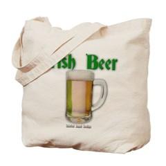 Irish Beer Canvas Tote Bag