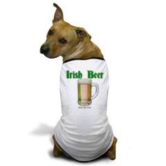 Irish Beer Dog T-Shirt