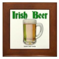 Irish Beer Framed Tile
