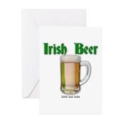Irish Beer Greeting Cards (Pk of 10)