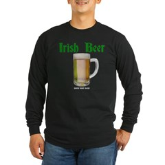 Irish Beer Long Sleeve Dark T-Shirt