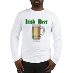 Irish Beer Long Sleeve T-Shirt