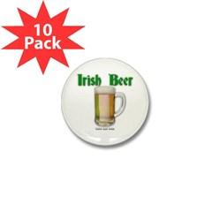 Irish Beer Mini Button (10 pack)