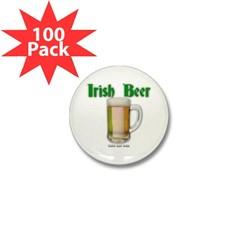 Irish Beer Mini Button (100 pack)