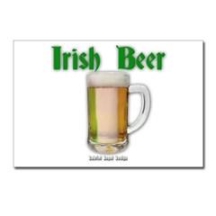 Irish Beer Postcards (Package of 8)