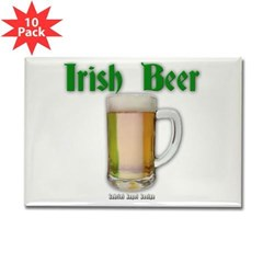 Irish Beer Rectangle Magnet (10 pack)