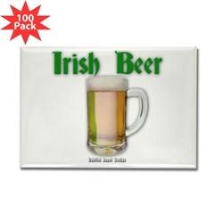 Irish Beer Rectangle Magnet (100 pack)