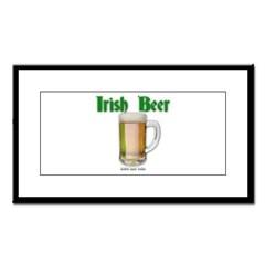 Irish Beer Small Framed Print