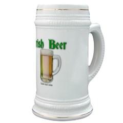 Irish Beer Stein