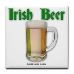 Irish Beer Tile Coaster