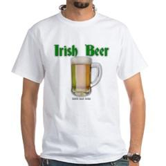 Irish Beer White T-Shirt