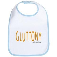 Gluttony Logo Baby Bib