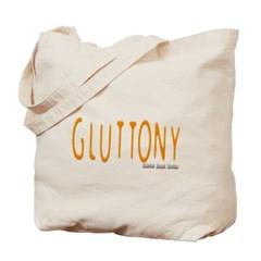 Gluttony Logo Canvas Tote Bag