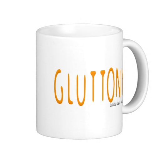 Gluttony Logo Classic White Mug