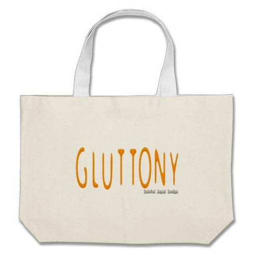 Gluttony Logo Jumbo Tote