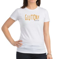 Gluttony Logo Junior Jersey T-Shirt