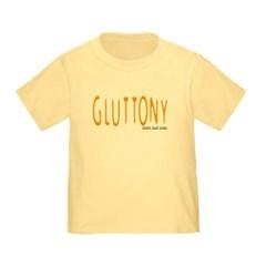 Gluttony Logo Toddler T-Shirt