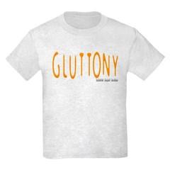 Gluttony Logo Youth T-Shirt by Hanes