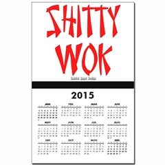 Shitty Wok Calendar Print