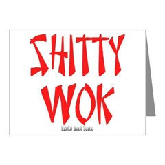 Shitty Wok Note Cards (Pk of 20)