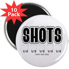 "Shots 2.25"" Magnet (10 pack)"