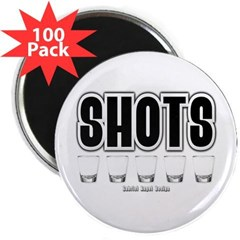 "Shots 2.25"" Magnet (100 pack)"