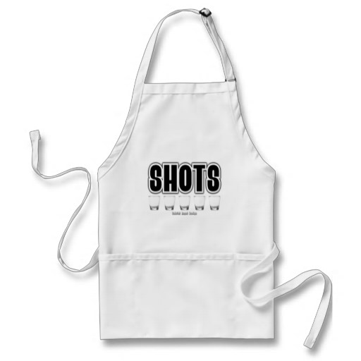 Shots Adult Apron