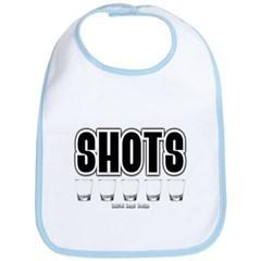 Shots Baby Bib