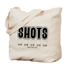 Shots Canvas Tote Bag
