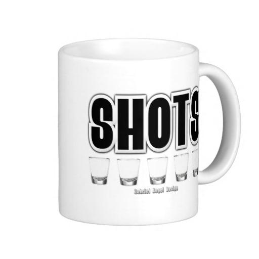 Shots Classic White Mug