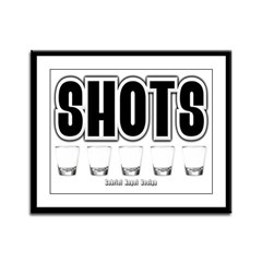 Shots Framed Panel Print
