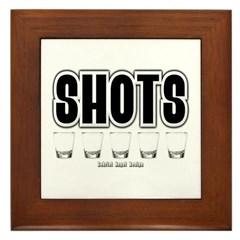 Shots Framed Tile