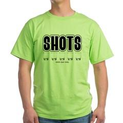 Shots Green T-Shirt