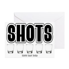 Shots Greeting Cards (Pk of 20)