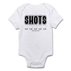 Shots Infant Bodysuit