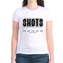 Shots Junior Ringer T-Shirt