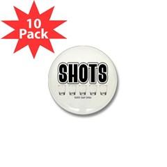 Shots Mini Button (10 pack)