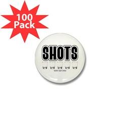 Shots Mini Button (100 pack)