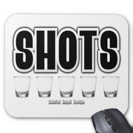 Shots Mousepad